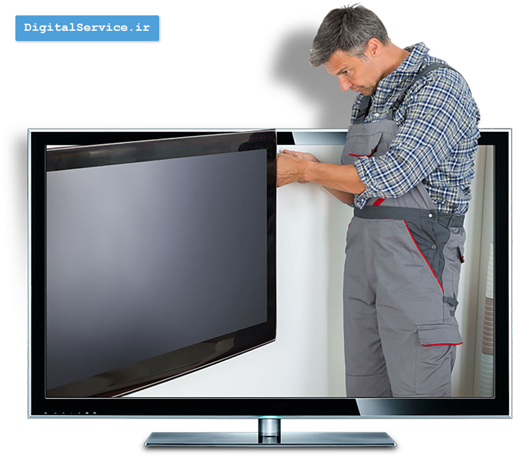 تعمیر تلویزیون led ال ای دی و lcd ال سی دی